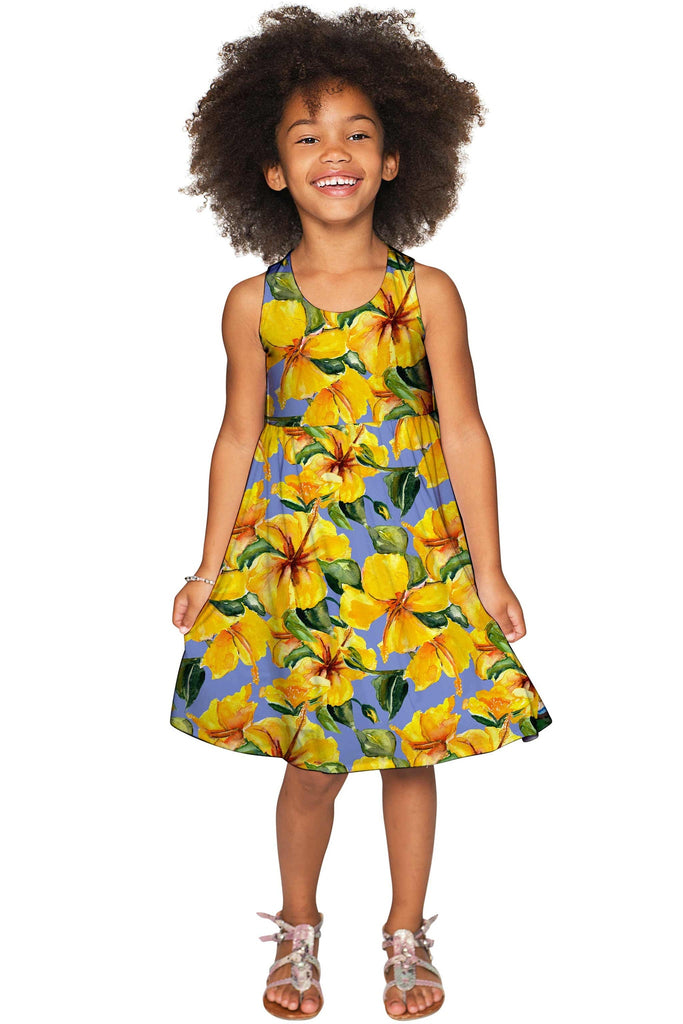 After the Rain Sanibel Fit & Flare Floral Party Dress - Girls - Pineapple Clothing