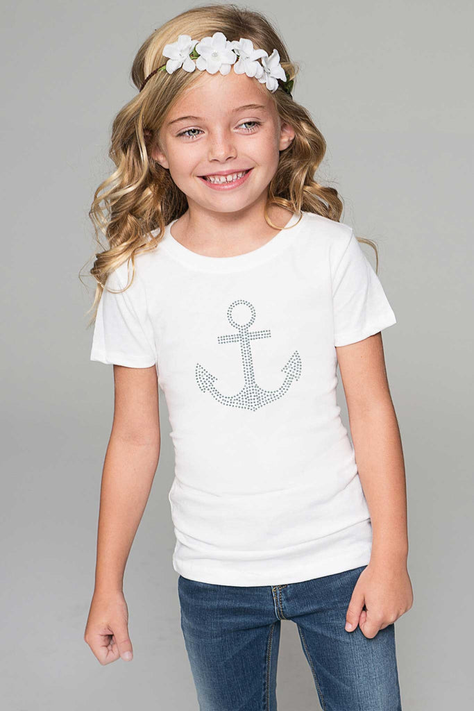 Anchor Tee - Girls - Pineapple Clothing