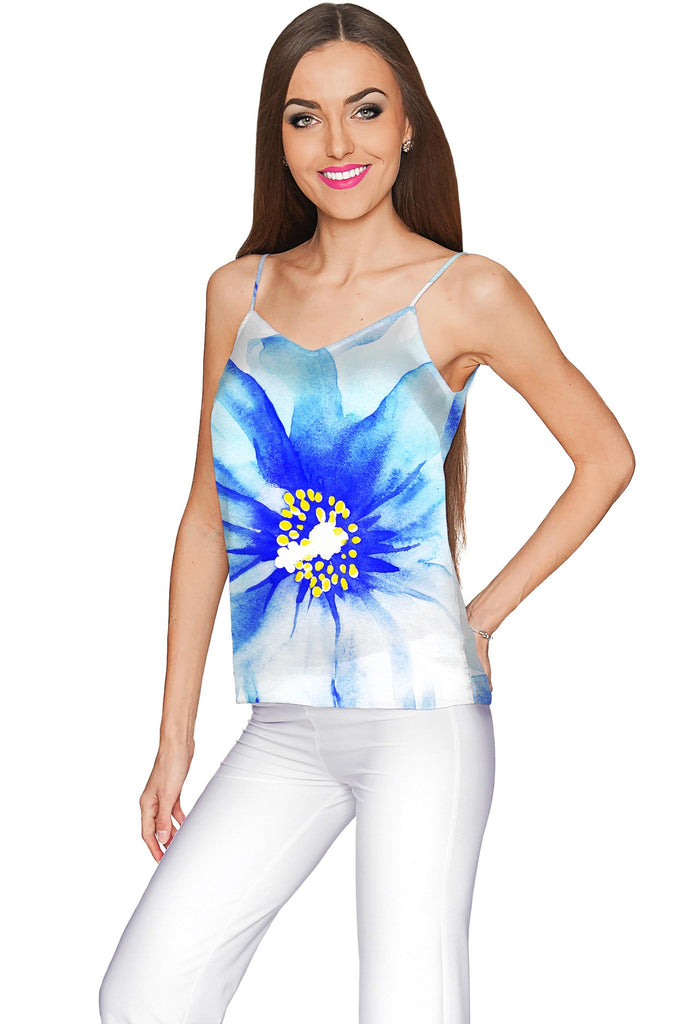 Aurora Ella V-Neck Chiffon Camisole - Women - Pineapple Clothing