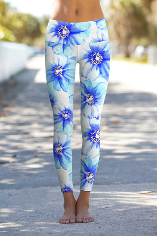 Aurora Lucy Printed Performance Leggings - Women - Pineapple Clothing