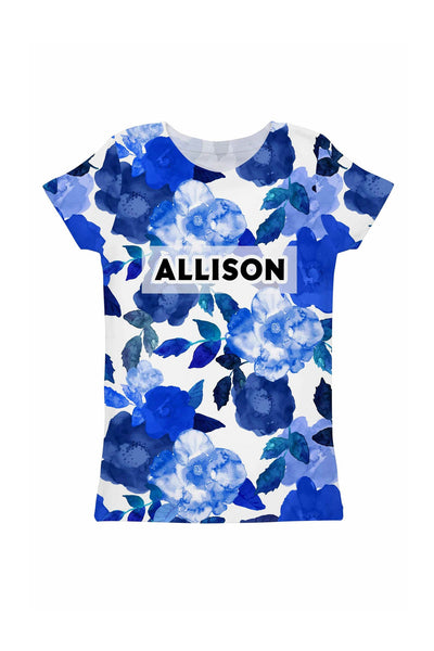 Blue Blood Customized NAME Zoe T-Shirt - Girls