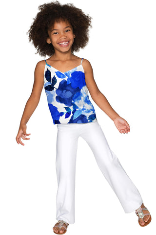 Blue Blood Ella V-Neck Stretchy Camisole - Girls - Pineapple Clothing