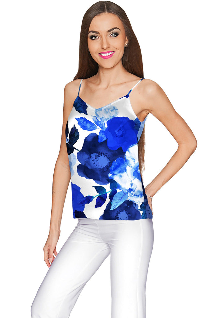 Blue Blood Ella V-Neck Camisole - Women - Pineapple Clothing