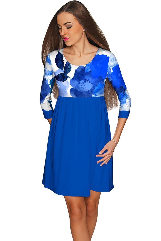 Blue Blood Gloria Empire Waist Casual Dress - Women - Pineapple Clothing