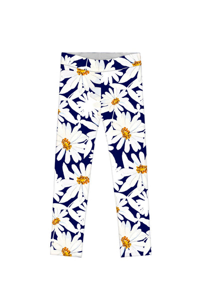 Daisyland Lucy Cute Floral Print Full-Length Leggings - Girls