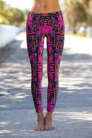 Ego Lucy Printed Performance Yoga Leggings - Women - Pineapple Clothing