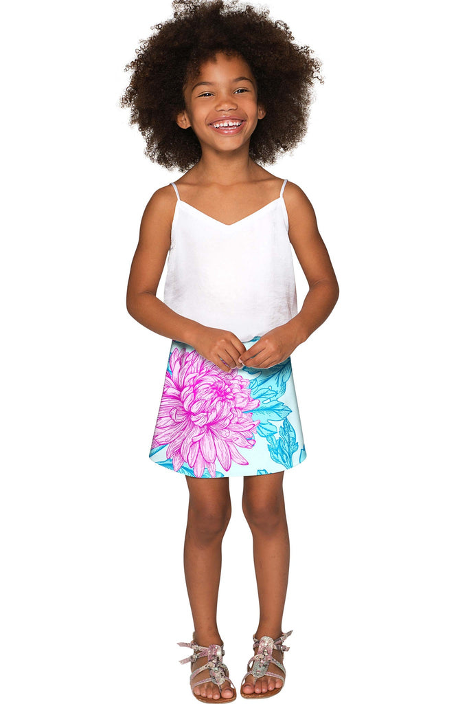 Floral Bliss Aria A-Line Skirt - Girls - Pineapple Clothing