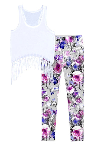 Floral Touch Lisa Set - Women - Pineapple Clothing