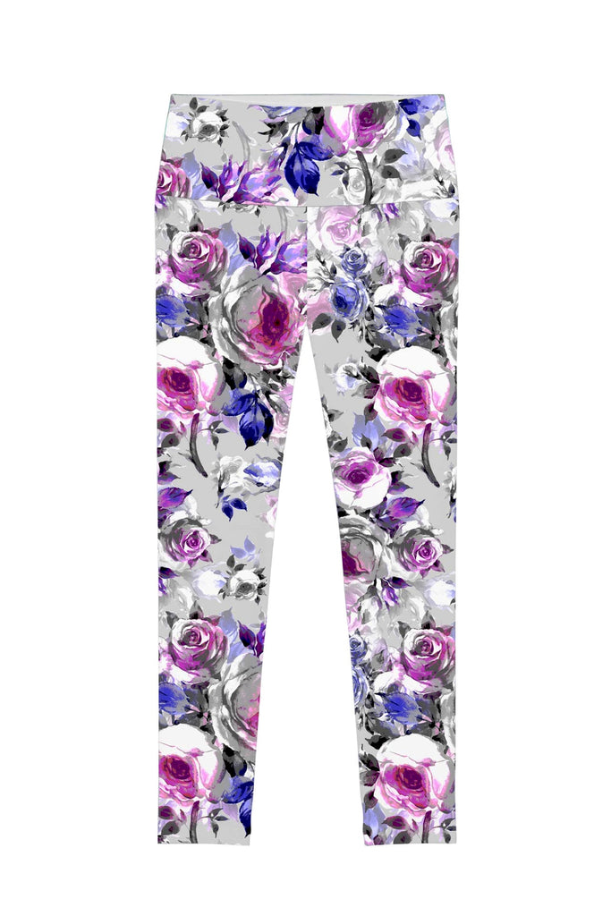 Floral Touch Lucy Printed Performance Leggings - Women - Pineapple Clothing