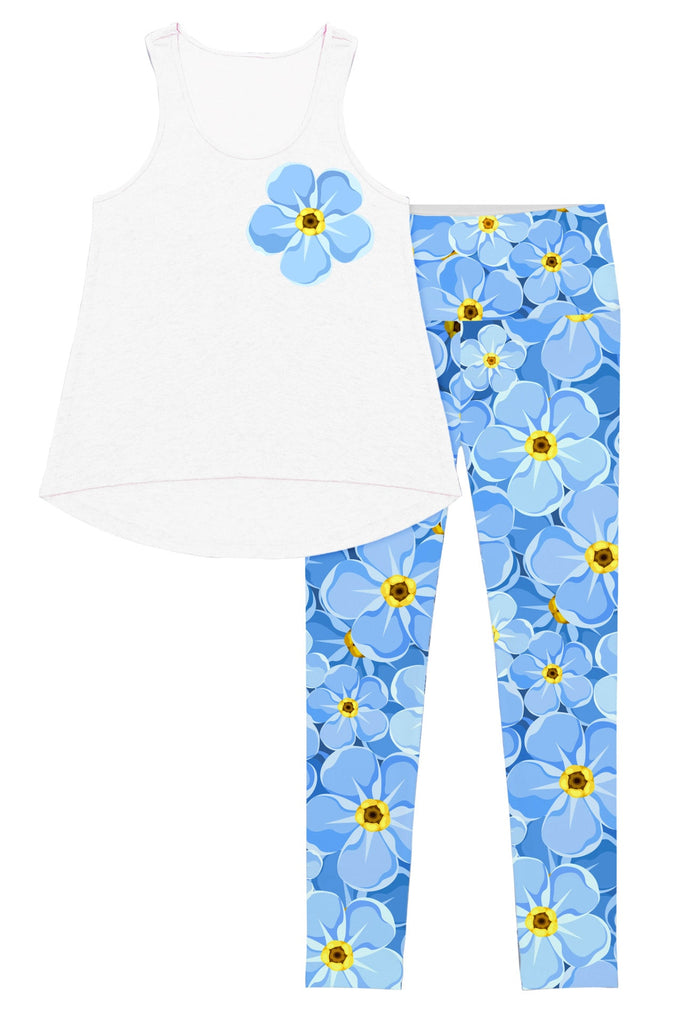 Forget-Me-Not Donna Set - Women - Pineapple Clothing
