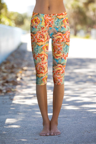 Fox Ellie Performance Capri Leggings - Women - Pineapple Clothing