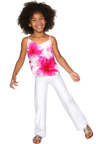 Fragrance Ella V-Neck Stretchy Camisole - Girls - Pineapple Clothing