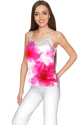 Fragrance Ella V-Neck Stretchy Camisole - Women - Pineapple Clothing