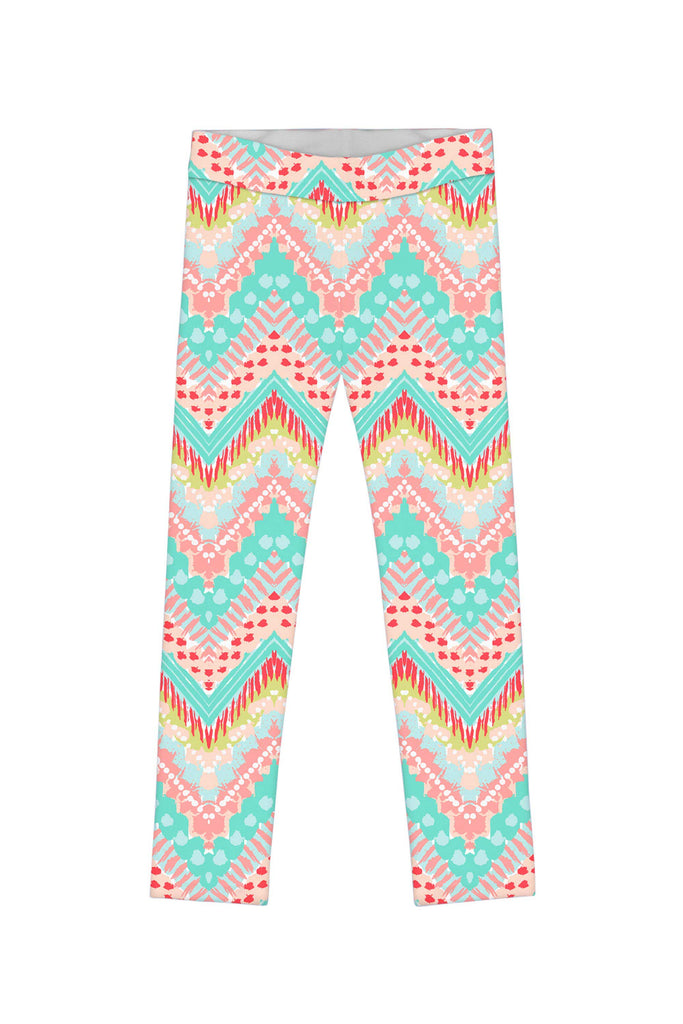 Chevron Please Lucy Leggings - Mommy and Me - Pineapple Clothing