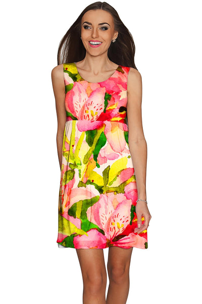 Havana Flash Sanibel Empire Waist Vacation Dress - Women