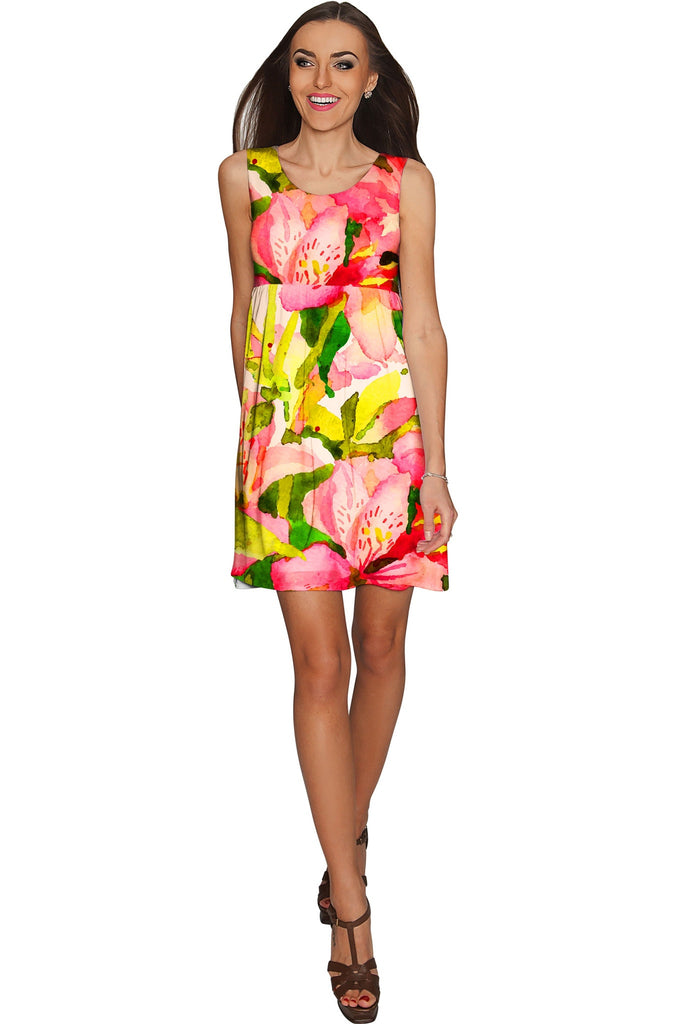 Havana Flash Sanibel Empire Waist Vacation Dress - Women - Pineapple Clothing