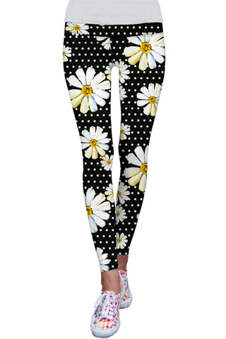 He Loves Me Lucy Floral Print Performance Legging - Women - Pineapple Clothing
