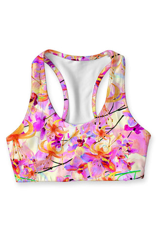 In Love Stella Seamless Racerback Sport Bra - Women - Pineapple Clothing