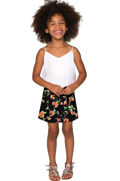 In The Night Aria A-Line Skirt - Girls