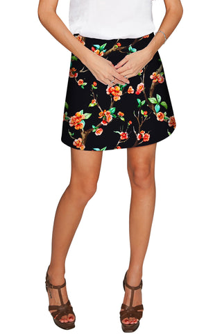 In The Night Aria A-Line Skirt - Women - Pineapple Clothing