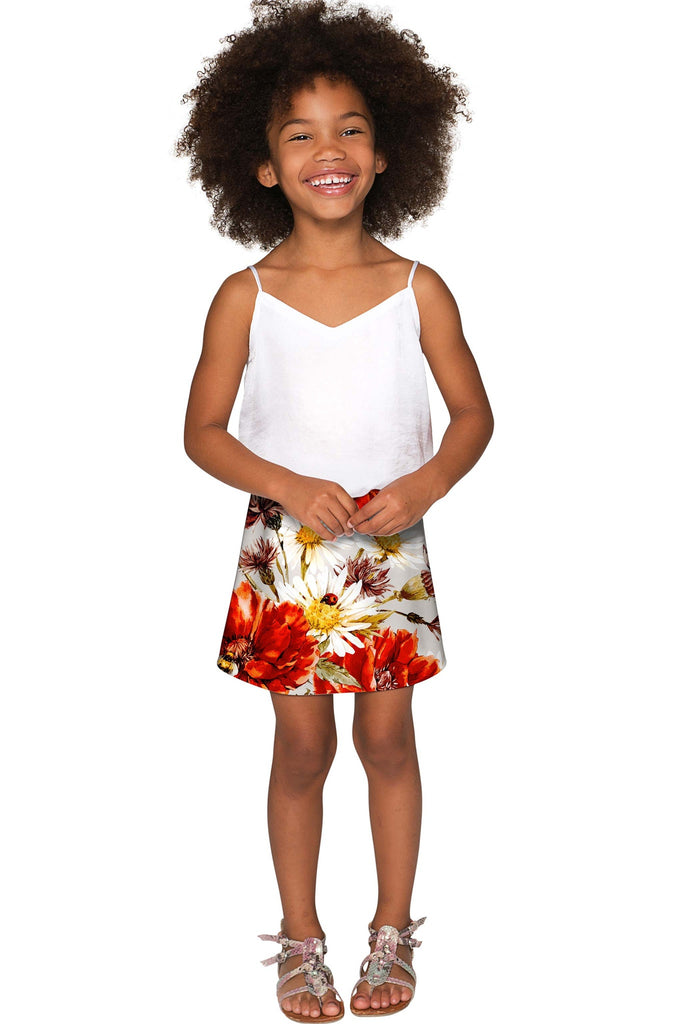 In The Wheat Field Aria A-Line Skirt - Girls - Pineapple Clothing