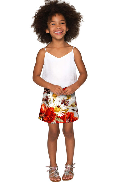 In The Wheat Field Aria A-Line Skirt - Girls