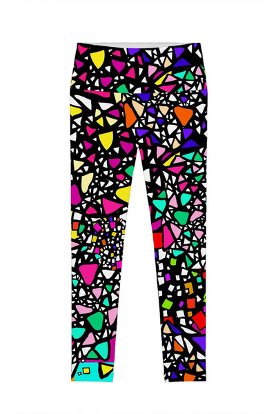 In a Joyful Mood Lucy Printed Performance Legging - Women