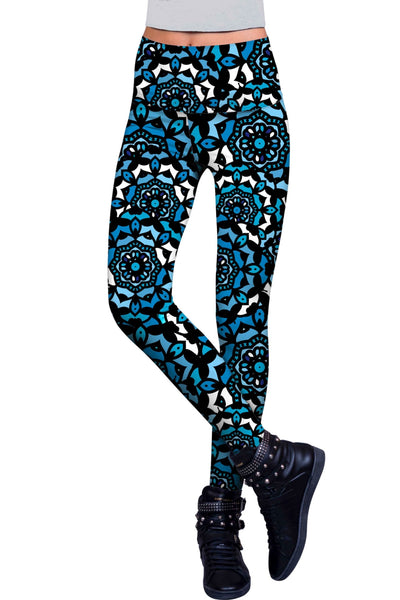 Kaleidoscope Lucy Printed Performance Leggings - Women