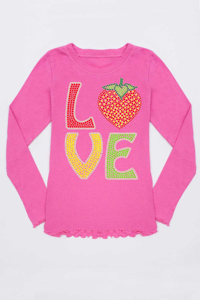 LOVE Tee - Girls - Pineapple Clothing