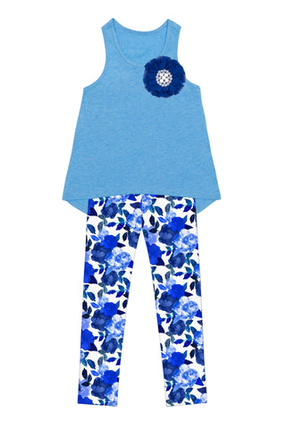 Little Blue Blood Donna Set - Girls - Pineapple Clothing