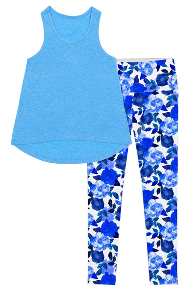 Little Blue Blood Donna Set - Women