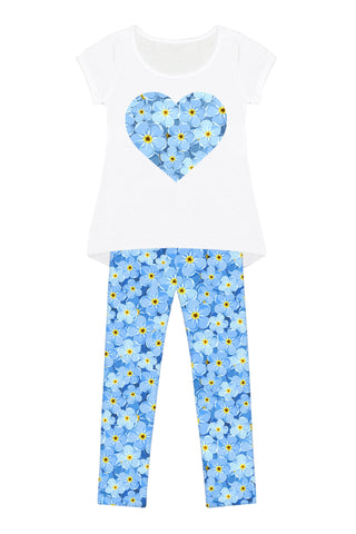 Little Forget-Me-Not Mary Set - Girls - Pineapple Clothing