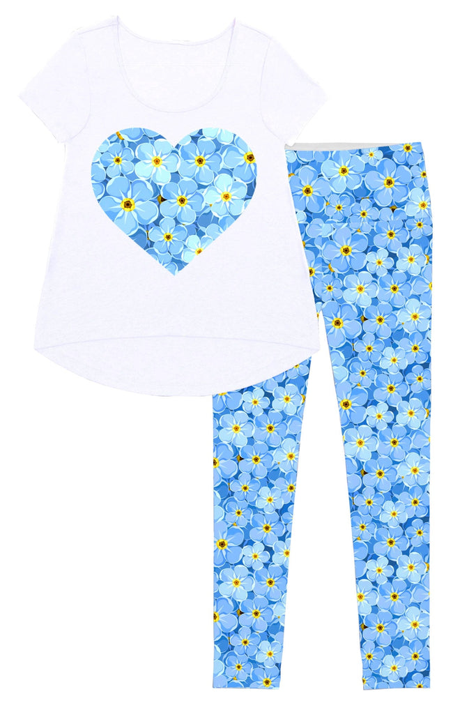 Little Forget-Me-Not Mary Set - Women - Pineapple Clothing