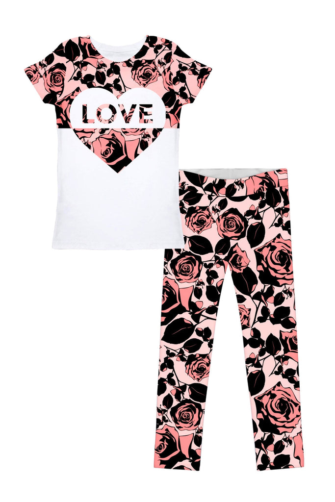 Love Flirty Girl Betty Set - Girls - Pineapple Clothing