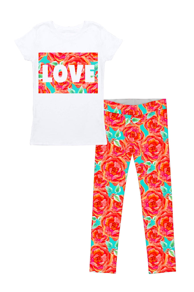 Love Oh So Sassy Betty Set - Girls - Pineapple Clothing