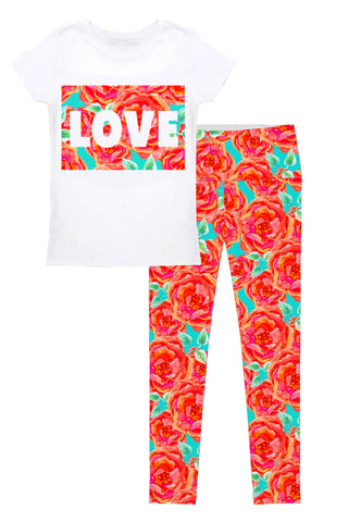 Love Oh So Sassy Betty Set - Women - Pineapple Clothing