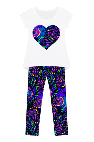 Midnight Glow Mary Set - Girls - Pineapple Clothing