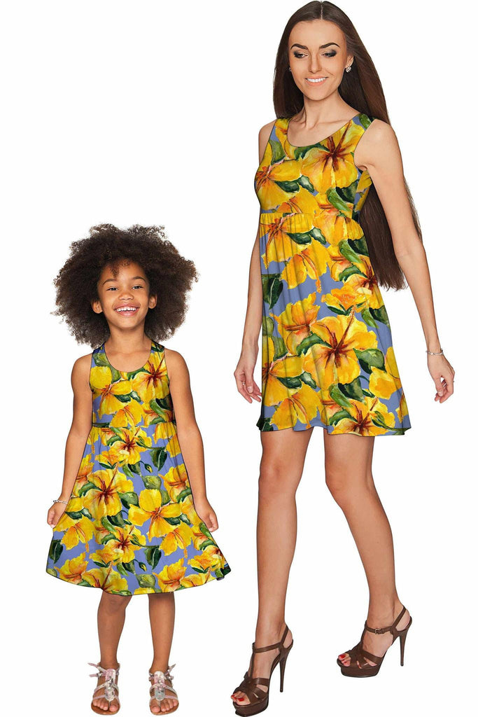 After the Rain Sanibel Empire Waist Mother and Daughter Dress - Pineapple Clothing