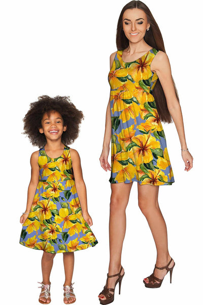 After the Rain Sanibel Empire Waist Mother and Daughter Dress