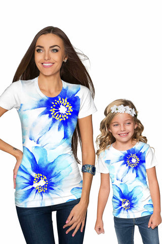 Aurora Zoe Designer Floral T-Shirt - Mommy & Me - Pineapple Clothing