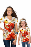 In The Wheat Field Zoe Designer Floral T-Shirt - Mommy & Me - Pineapple Clothing