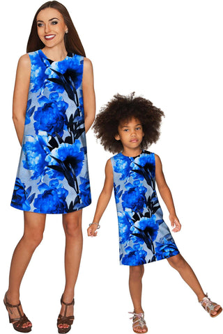 Mystery Adele Shift Party Mommy and Me Dress - Pineapple Clothing