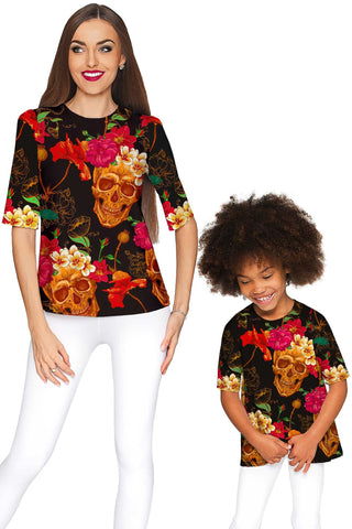 No Doubt Sophia Elbow Sleeve Dressy Top - Mommy & Me - Pineapple Clothing
