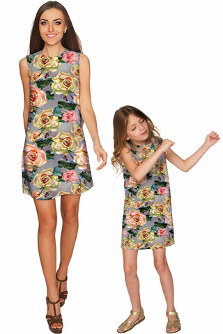 Prima Donna Adele Shift Party Mother and Daughter Dress - Pineapple Clothing