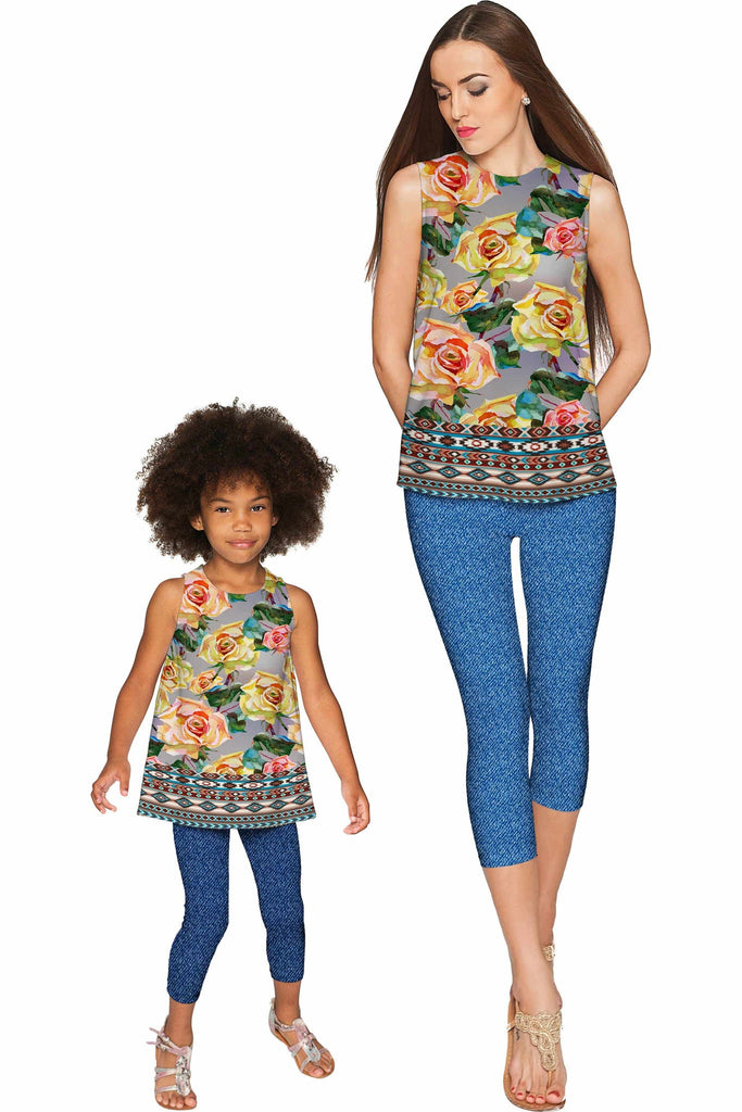Prima Donna Emily Sleeveless Party Top - Mommy & Me - Pineapple Clothing