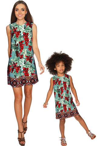 Toscana Adele Shift Party Mother and Daughter Dress - Pineapple Clothing