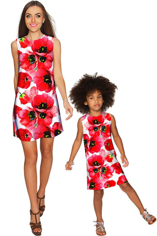 Tulip Salsa Adele Shift Party Mommy and Me Dress - Pineapple Clothing