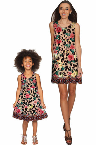 a4e7f2ec048b Wild & Free Sanibel Empire Waist Floral Mother and Daughter Dresses - Pineapple  Clothing