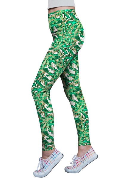 Nephrite Fantasy Lucy Printed Performance Leggings - Women