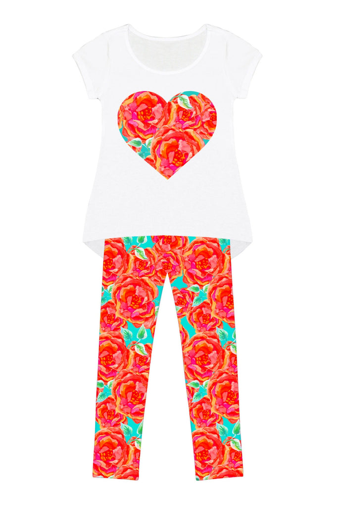 Oh So Sassy Mary Set - Girls - Pineapple Clothing